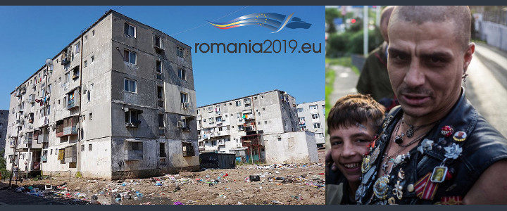 EU Council Presidency 2019, Child Trafficking, Torture and Poverty - tolerated and supported by the authorities and funded with EU funds